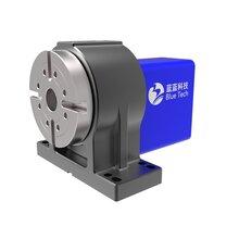 CNC第四軸數控旋轉工作臺藍藍科技五軸轉臺四軸轉臺數控分度盤可送樣驗證可退換圖片