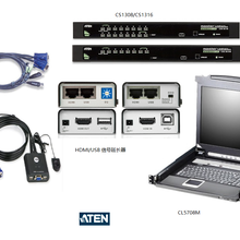 西安蘭州西寧銀川重慶宏正aten切換器8端口HDMIKVM多電腦切換器圖片