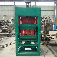 厂家直销4-15全自动水泥免烧砖机多用途小型水泥空心实心砖机图片