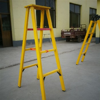河北批發絕緣梯玻璃鋼安全電工絕緣梯電工梯1米-6米絕緣人字梯