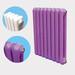家用钢二柱暖气片集中供暖壁挂式装饰散热器暖气片大水道