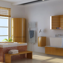 江苏卫生间LED智能卫浴镜生产厂家图片