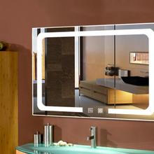 懷化酒店LED智能衛浴鏡定做廠家圖片