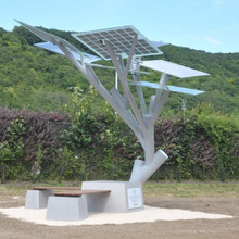 太阳能座椅,太阳能智能公共座椅-首信智享图片