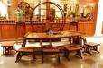 上海松江家具油漆修补,根雕,木门茶桌修复