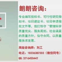 柘城縣專業制作資金申請報告報價、朗朗工程咨詢中心圖片