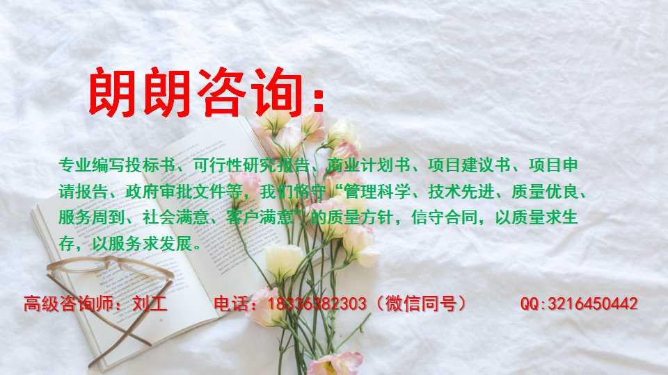 沧州写可行性报告写可行性报告本地