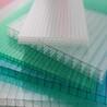 品恒山东临沂pc阳光板雨棚拜耳双层透明阳光板厂家pc中空板pe耐力板阳光板