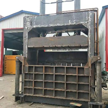 河北沧州鲁晨铁皮压块机铝合金压包机设备鲁晨供货