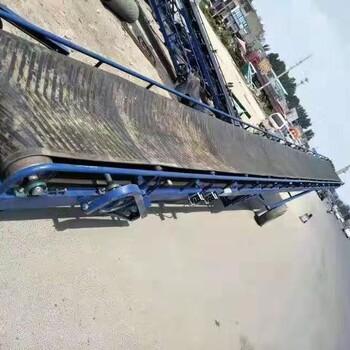 威海糧食傳輸機石子沙子輸送機槽鋼大架重貨傳輸機