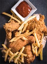 麦客士炸鸡汉堡简餐加盟的万元加盟_总部赠送设备图片