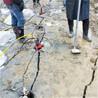 路基擴建遇到石頭哪里有破石呀不滿意可退/青海挖基坑硬石頭劈裂棒