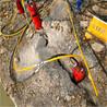 代替破碎錘電動巖石分裂機可以取代放炮鉆頭錐度是多少/湖北巖石劈裂機的應用