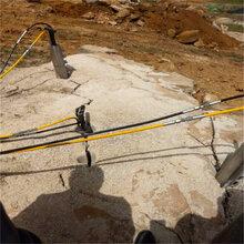 山东挖机改造破石机图片