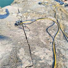 新疆地区地基挖掘劈裂棒图片