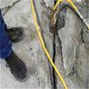 基坑石头难挖掘分裂机