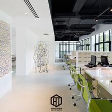 洪山区专业的办公室装修信誉保证写字楼装修图片