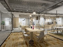 武汉佰特空间办公室装修施工团队写字楼装修图片0