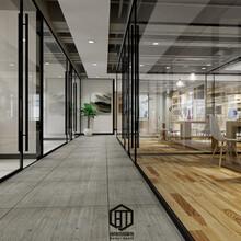 硚口区专业的办公室装修施工工程写字楼装修图片