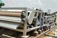 菏澤成武縣砂場淤泥壓濾機定制帶式泥漿處理設備價格