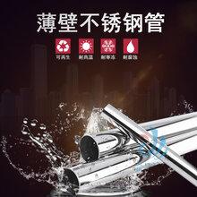 河北信铼不锈钢卡压式水管家装冷热水管薄壁不锈钢水管图片