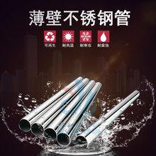 云南昆明薄壁不锈钢水管304不锈钢自来水管厂家直销图片