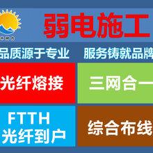 深圳罗湖光纤熔接抢修、综合布线、三网合一