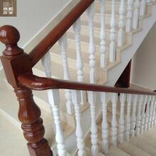 徐州典和木業實木樓梯立柱生產供應樓梯配件徐州實木樓梯彎頭圖片