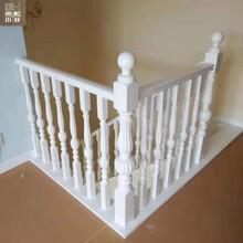 徐州實木樓梯扶手典和實木樓梯廠家定制各種款式樓梯立柱圖片