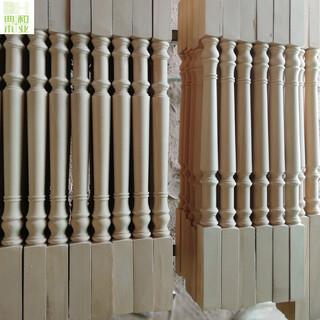 实木楼梯扶手价格徐州典和木业供应楼梯配件图片5