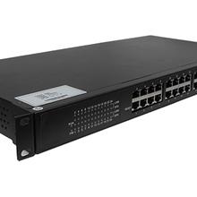 佰馬BM-IES24工業交換機24口工業交換機終端互聯通訊鏈路