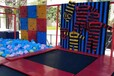 超级蹦床公园出租大型儿童蹦床租赁