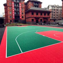 供应篮球场悬浮式拼装地板福建福州厂家直销图片