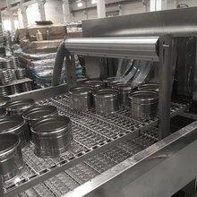 厂家直供高压喷淋清洗机除油内胆及餐具超高压清洗烘干机图片