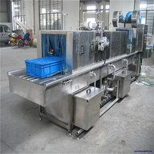 非標定做周轉筐清洗機大小規格周轉料箱清洗機自動洗箱干燥機廠家圖片