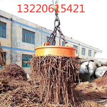 供應起重機強力圓形吸盤吸廢鐵廢鋼強磁吸盤挖掘機電磁吸盤廠家圖片