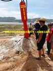 广西来宾矿山开采硬岩基坑开挖钻孔劈裂一体机