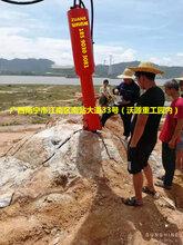 贵州遵义贵阳毕节都匀矿山开采硬岩基坑开挖广西钻科钻孔劈裂一体机