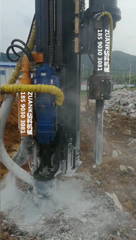 宜州賀州大理石礦山開采廣西鉆科鉆孔劈裂一體機租賃