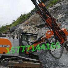贵州湖南广西水泥石场建材矿山115孔径最好用志高掘进ZEGA440一体潜孔钻机