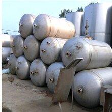 保定飲料廠設備回收-倒閉酒廠設備回收-各種加工廠淘汰設備回收-二手不銹鋼罐回收圖片