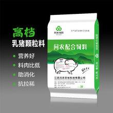 河南许昌问农乳猪颗粒料断奶乳猪专用吃得多长得快料肉比低图片