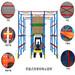 廠家定制電產物流倉庫儲存貨架密集儲存冷庫貫通式貨架穿梭式貨架