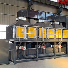 食品业和铸造业废气净化催化燃烧技术