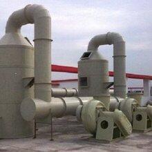 发电机尾气处理水喷淋塔根据废气腐蚀情况废气处理塔设备