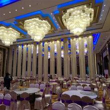 贵阳市生产厂家供应主人活动隔断屏风宴会》厅折叠门图片
