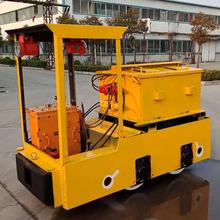 2.5噸礦用牽引設備蓄電池電機車防爆型電瓶車宏圖廠家直銷圖片