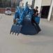 河南顶管扒渣机50小型扒土机市政管子工程耙渣机证件齐全