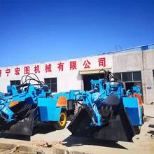 ZWY70型礦山開采機隧道清理機后導向礦用扒渣機生產廠家圖片