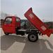 山東礦用三輪車工程三輪車廠家定制3噸運輸電瓶車自卸